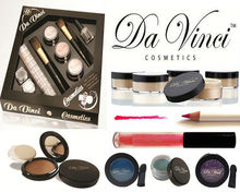 Mineral Natural polvo suelto Mineral en polvo Da Vinci cosméticos