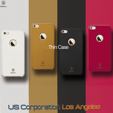 4 Colors - OEM Genuine Baseus Leather 1mm Ultra-Slim Thin Cover Case for iPhone 6 4.7 Inch USA, Los Angeles Wholesale