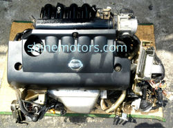 USED JAPANESE NISSAN QR25 ENGINE, BOTH WITH TRANSMISSION AND WITHOUT TRANSMISSION (GEARBOX)