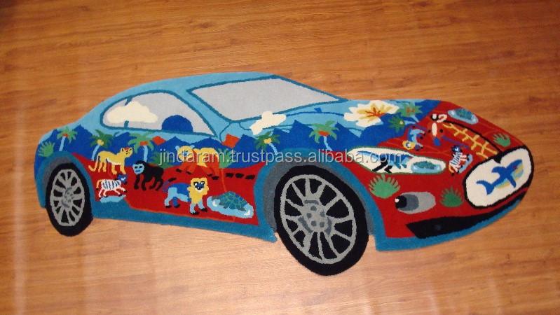 Acrylic kids carpets,Maserati (Blue).JPG
