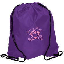 Travel with polyester handled or drawstring bag