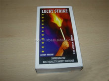 Household safety matches factory