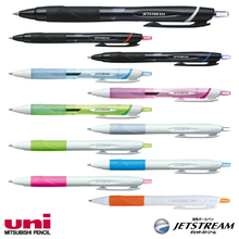 Reliable and High quality jetstream pen with superlow friction ink made in Japan