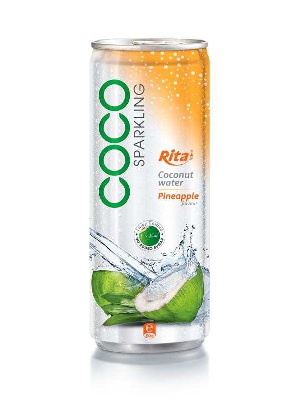 250ml Pineapple flavor Sparkling Coconut Water.jpg