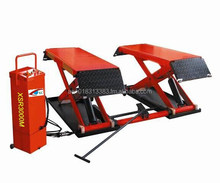 hydraulic scissor car lift mid rise mobile auto lift 3000kgs