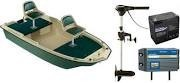 Sun Dolphin Pro 120 Fishing Boat: Angler 113 Electric Package