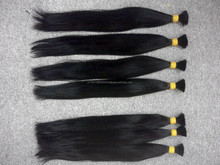 soft human hair no tangle no chemical straight bulk hair hot trend 2015