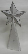 NMW-136 Wooden Christmas Tree with star Topper