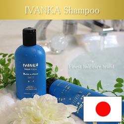 Helps repair visible signs of damaged hair split ends, weakness,rougness,dullness and dehydrating IVANKA shampoo products