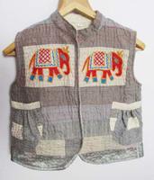 Vintage Handmade Embroidered Banjara Koti Kutchi