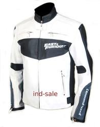 Custom Tailor Made All Sizes Genuine Leather Jacket & Fast & Furious Van Diesel