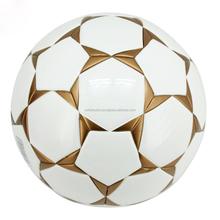 Bolas de futebol com o seu logotipo design personalizado moldado em todos os tamanhos