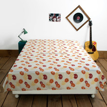 Bed linen brand/ hotel beddings / satin strip white bedding sets cotton printed bed sheets