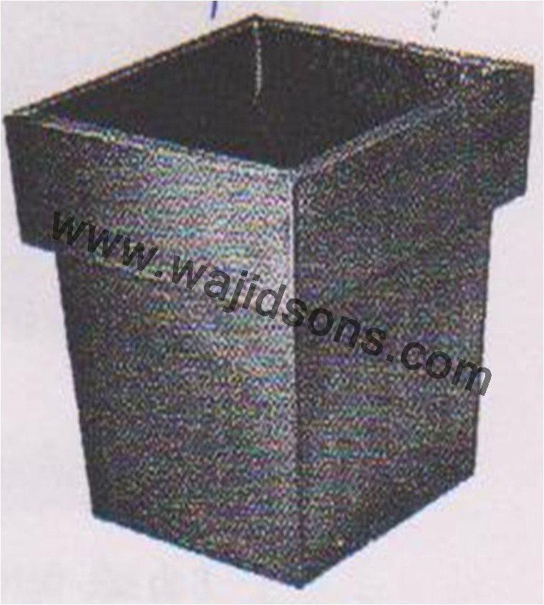 fioriera in metallo scatola di latta vaso da giardino vasi di ...