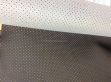 PVC PERFORATED LEATHER