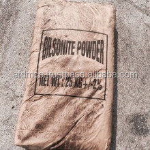 GILSONITE IS NATURAL ASPHALT IN LUMP POWDER FOR MIX WITH BITUMEN INK DRILLING PAINT