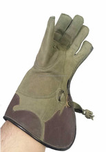 NUBUCK LEATHER FALCONRY GLOVE 2 LAYER/Ultimate Falconry Glove. Double Skinned plus KEVLAR Puncture resist