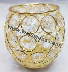 crystal votive Wholesale for cars and office party decoration manufacture by Wajidsons Corporation