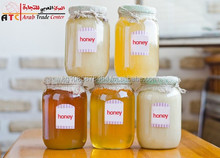5 kind of honey (mountain, field, white cream honey and etc. honey)