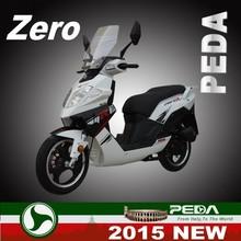 (ZERO) 2015 NEW DOT EPA scooter 50cc 125cc 150cc gas cooler scooter 2 stroke Italian Design 14 inch tire (PEDA MOTOR)