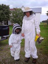 Beekeeping Suits beekeeping clothing, Complete Beekeeping Suit with Hood Veil Bee Protection Suit