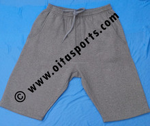 Custom100% Cotton Mens Shorts with Elastic Belt Loop/Mens Fleece Shorts