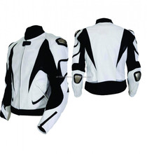 WHITE LEATHER JACKETS MOTORBIKE STYLISH LEATHER JACKETS, MOTORCYCLE WHITE LEATHER JACKETS