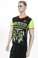 Healong Dye Sublimation Latest Design Retail Polo Shirt