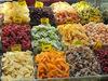 Tropical Dried Fruits; cape gooseberry,banana,mango,pineapple