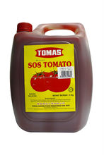 Malaysia Made Halal Tomato Sauce in pail 5kg