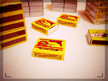 safety match boxes with customers design supply from India