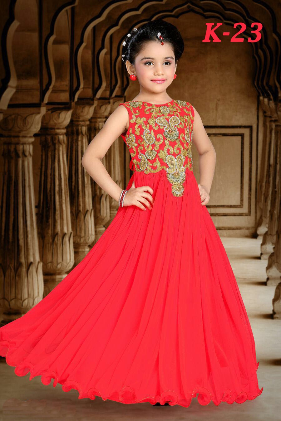 Pictures of gowns for kids