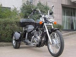 EPA&DOT APPROVED 250cc Trike Chopper Style 3 Wheels Motorcycle