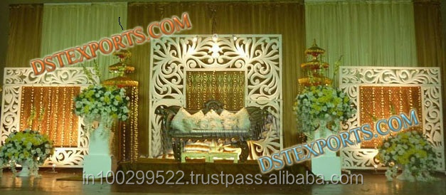 Theme Wedding Stage Designs New Design Wedding Stage