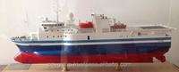 Model CGG Amadeus Scale 1: 100- Wooden ship model in Viet Nam