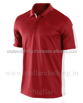 65% polyester 35% Cotton Polo T-shirt - REd.jpg