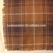 Bufanda de lana hechos a mano