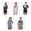 ropa casual de las señoras readymade kurti