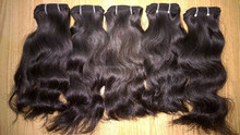 Popular virgin hair market/ Always provide natural raw real human hair without chemical wefted hair