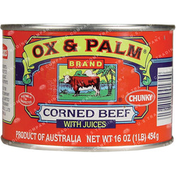 OX & PALM Corned Beef (L)