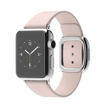Watch 38mm Stainless Steel Case with Soft Pink Modern Buckle