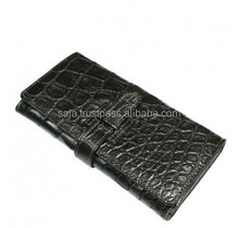 Crocodile leather wallet for women SWCRW-032