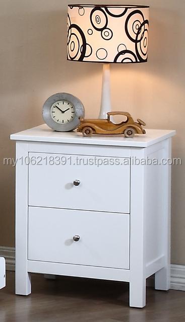 Kids bedroom furniture in white single bed chest of - Kids white bedroom furniture ...