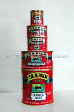 wholesal Ox & Palm Corned Beef beef in 150g 170g 200g 340g 340g