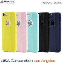 5 Colors - Branded OEM Rock Melody Series Rubberized Soft Back Cover Case for iPhone 6 4.7 Inch USA, Los Angeles Wholesale