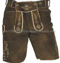 damen bavarian lederhosen/woman trachten lederhosen /ladies bavarian leather pant long,2012 Ladies Black Fashion Leather Pants