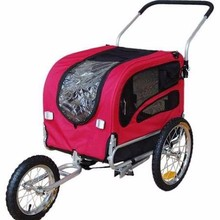 Perfect For Sale Doggyhut Medium Pet Bike Trailer Jogger Kit Dog Bicycle Carrier Red