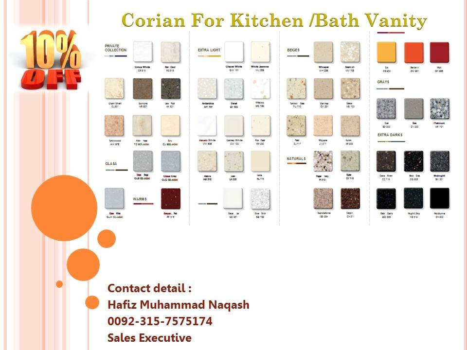 Corian buy kitchen top product on for Corian per square foot