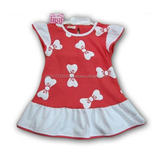 Baby Girl Cotton Frock with customized esign