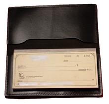 Checkbook Case/Genuine leather checkbook cover for man